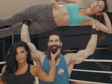 Guy Lifting Woman - The Beard Club Commercial