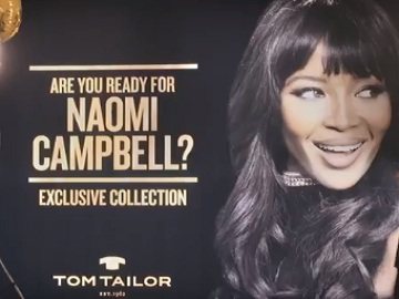 Tom Tailor Naomi Campbell Commercial