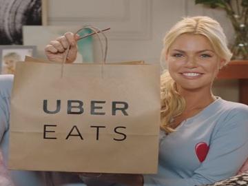 UberEATS Sophie Monk Commercial