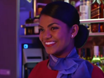 Virgin Australia Stewardess