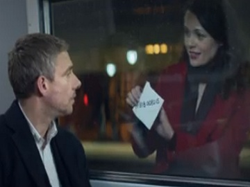 Vodafone Christmas Advert - Martin Freeman