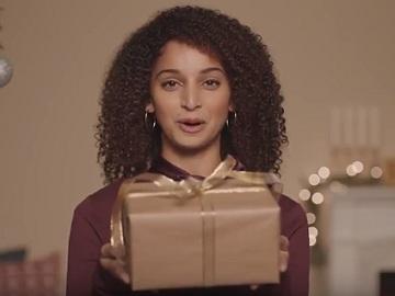 Girl in eBay Commercial