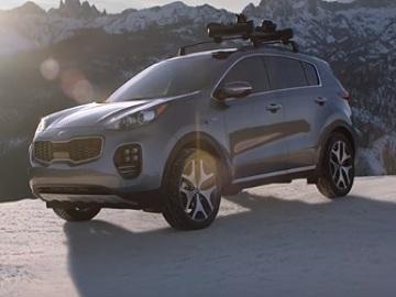 2018 Kia Sportage AWD Commercial