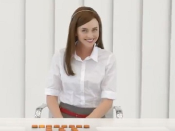Woman in AAMI Insurance Commercial