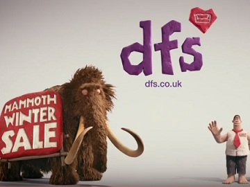 DFS Mammoth Winter Sale Advert