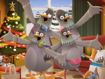 Funky Pigeon Christmas Advert