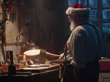 GameStop Santa Commercial