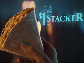 Taco Bell $1 Stacker Illuminati Commercial