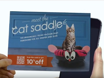 USPS Informed Delivery Commercial: Meet The Cat Saddle