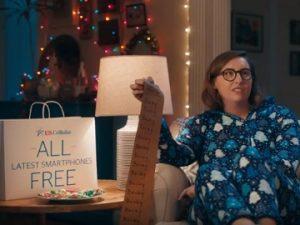 U.S. Cellular Santa Commercial - Free Smartphones