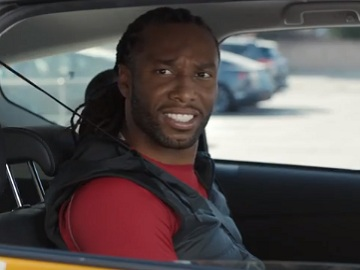Larry Fitzgerald in Visa Commercial