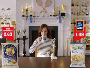ALDI White Cheddar Puffs Commercial