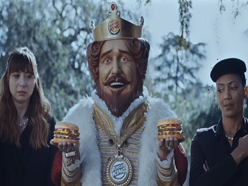 Burger King Double Quarter Pound Commercial