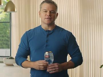 Matt Damon in Stella Artois Super Bowl 2018 Commercial