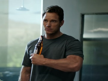 Chris Pratt in Michelob ULTRA Super Bowl Commercial