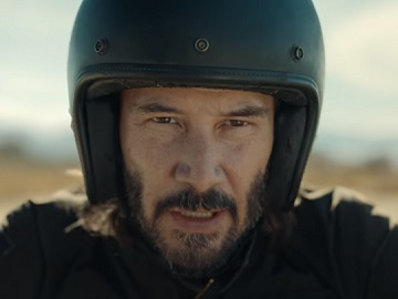Keanu Reeves in Squarespace Super Bowl 52 Commercial