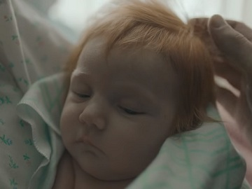 TurboTax Red-Haired Baby Commercial