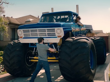 Booking Monster Truck Commercial