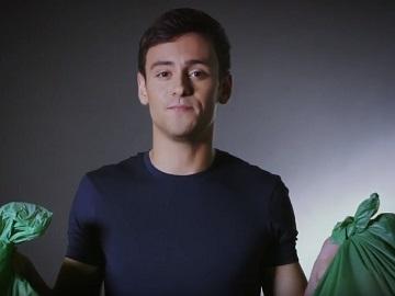 Tom Daley in Bulk Powders Commercial