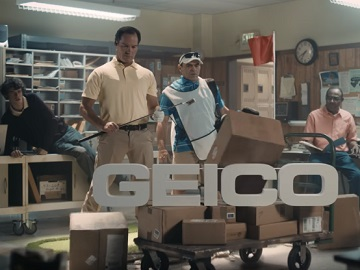 GEICO Golf Commercial