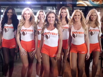 Girls in Hooters Commercial