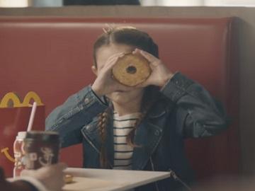 McDonald's McCafé Bagels Commercial