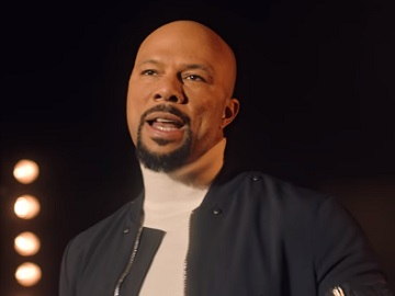 Rapper Common in Microsoft Commercial