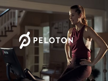 Peloton Commercial - Woman on Stationary Bike