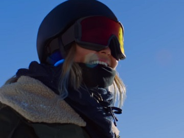 Chloe Kim in Samsung Commercial
