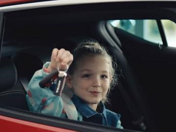 Little Girl in Vauxhall TV Advert
