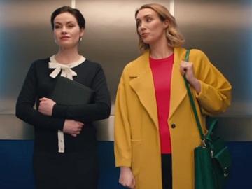 Aldi TV Advert - Two Women in Elevator