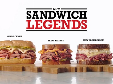 Arby's Sandwich Legends Commercial