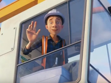McVitie's TV Advert - The Crane Driver
