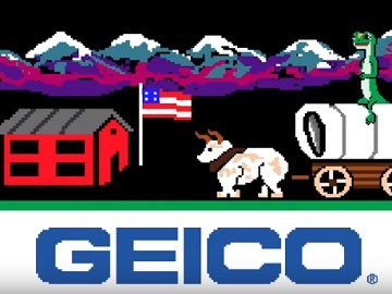 GEICO Oregon Trail Commercial
