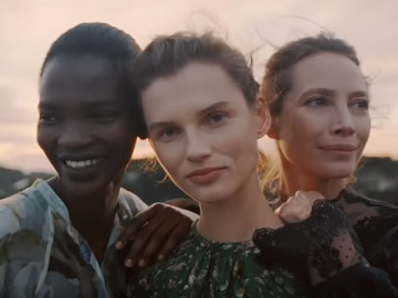 Models on H&M Conscious Commercial