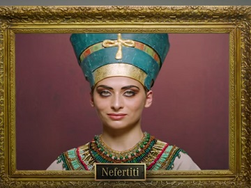 Nefertiti Painting - Mercedez-Benz Women's Day Commercial