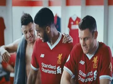 NIVEA MEN Liverpool FC Advert