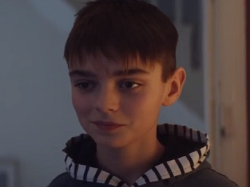 Boy in Mr Kipling TV Advert