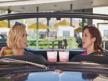 SONIC Ellie Kemper & Jane Krakowski Commercial