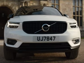Volvo XC40 Tomb Raider Commercial