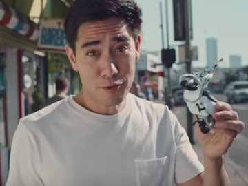 Zach King in Dockers Commercial