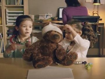 Amazon Teddy Commercial