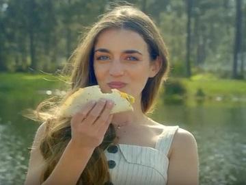 Girl in Asda TV Advert