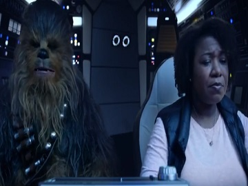 Esurance Chewbacca Commercial