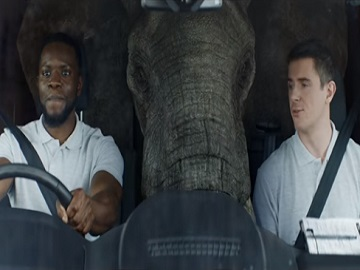 Ford Transit Elephant TV Advert