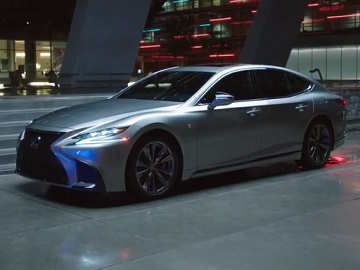 Lexus LS 500 Commercial