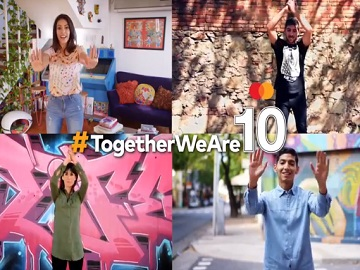Mastercard Commercial #TogetherWeAre10