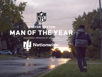 Nationwide Walter Payton Award Commercial