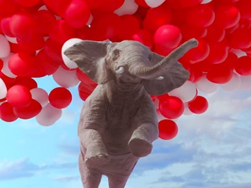 Samsung QLED TV Commercial - Flying Elephants