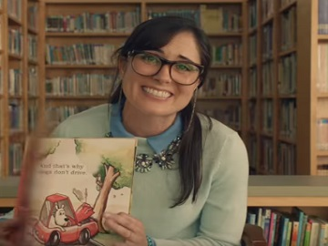 Taco Bell Commercial - The Librarian